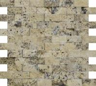 Anatolia Uptown Stone 1x2 Picasso Mosaic ACNS221
