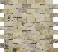 Anatolia Uptown Stone 1x2 Picasso Mosaic ACNS236