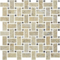 Anatolia Uptown Stone Picasso Basketweave Mosaic Tile ACNS087
