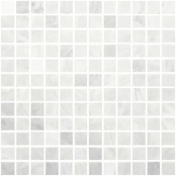 Anatolia Uptown Stone Bianco Venatino Polish 1x1 Mosaic ACNS046