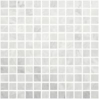 Anatolia Uptown Stone Bianco Venatino Honed 1x1 Mosaic ACNS026
