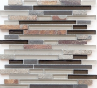 Eleganza Glendale Brick Interlocking Mosaic Tile GL3171