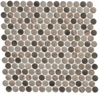 Polka Dot Series PLK63- Southern Tail Wood Look Penny Round Tile