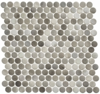 Polka Dot Series PLK64- Enlightened Sky Penny Round Tile
