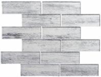 Westminster Series WM776- Queen's Corner Wood Look Interlocking Glass Tile