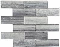 Westminster Series WM777- English Grey Wood Look Interlocking Glass Tile