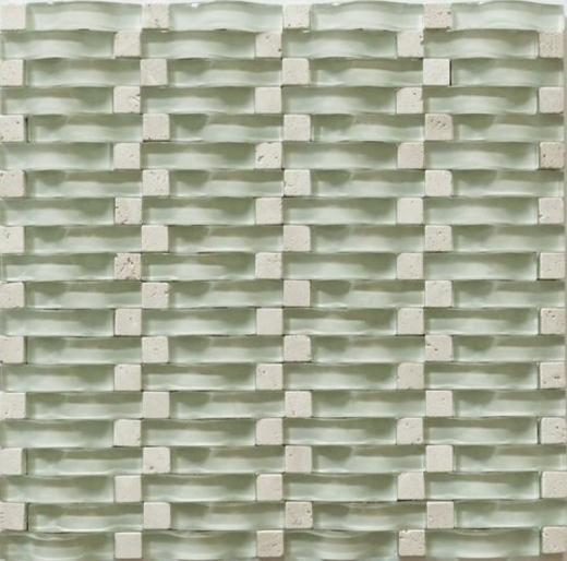 Vento Series Mystic Sea Glass Tile MCGB01