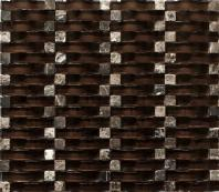 Vento Series Rich Chocolate Glass Tile MCGB07