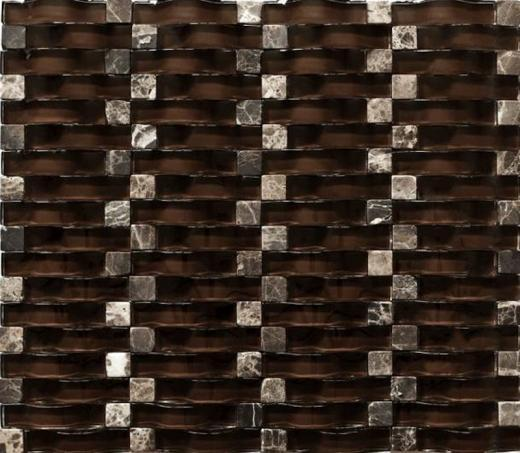 Mosaic Tile Vento Rich Chocolate