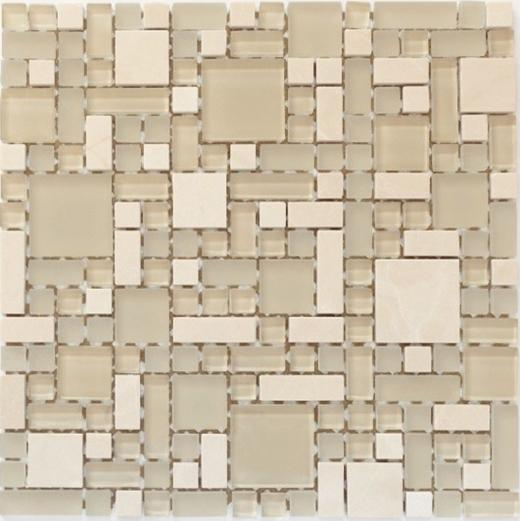 Enigma Series Sugar Scone Mosaic Tile