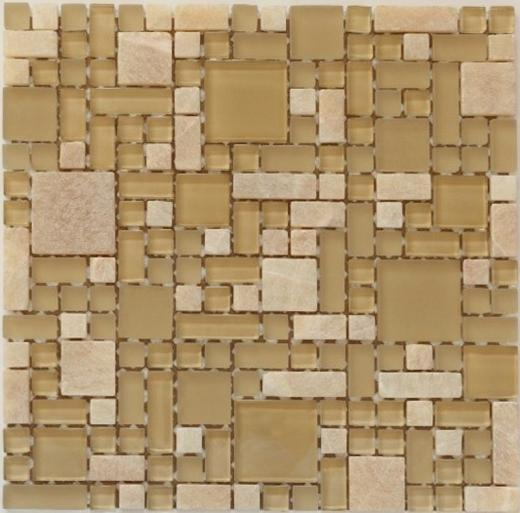Enigma Series Olive Martini Mosaic Tile