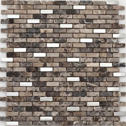 Muro Series Roman Stone Mosaic Tile MM01