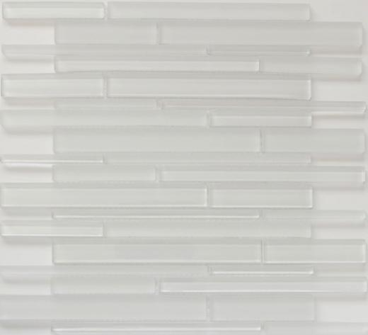 Strada Series Crystal Ice Glass Tile MS05