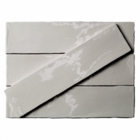 Masia Gris Claro 3x12 Ceramic Subway Tile by Soho Studio MASIA3X12GRICLR