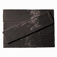 Masia Gris Oscuro 3x12 Ceramic Subway Tile by Soho Studio MASIA3X12GRISCR