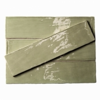Masia Olive 3x12 Ceramic Subway Tile by Soho Studio MASIA3X12OLIVE