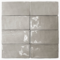 Masia Gris Claro 3x6 Ceramic Subway Tile by Soho Studio MASIA3X6GRICLR