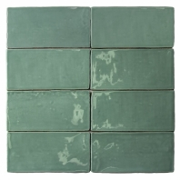 Masia Jade 3x6 Ceramic Subway Tile by Soho Studio MASIA3X6JADE