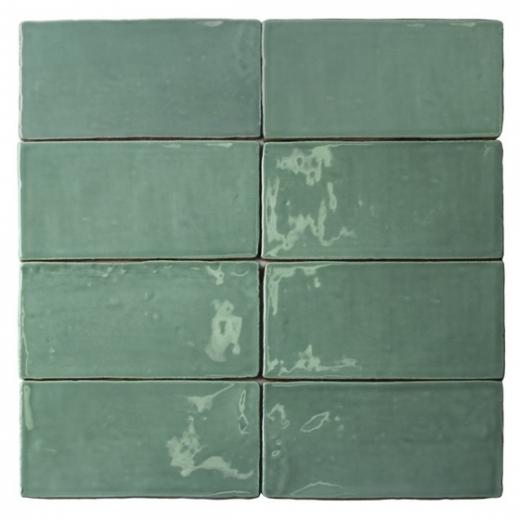 Masia Jade 3x6 Ceramic Subway Tile by Soho Studio MASIA3X6JADE