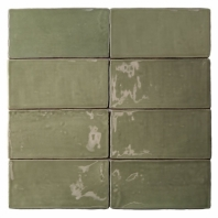Masia Olive 3x6 Ceramic Subway Tile by Soho Studio MASIA3X6OLIVE