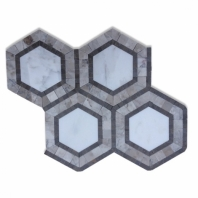 Metrology Asian Statuary Hexagon Tile by Soho Studio METGASNLGTP