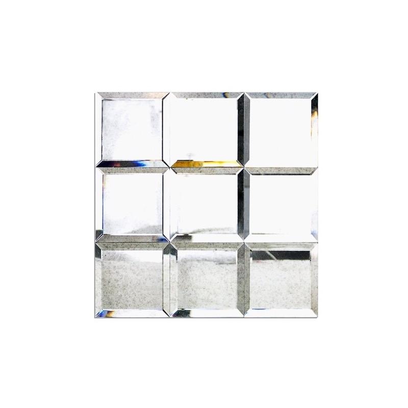 Do It Yourself Home Design: Mirror Antique 4x4 Beveled Mirror Tile Soho MRRANTQ4X4BEV HDAZ