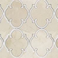 Rabat Crema Marfil Arabesque Tile by Soho Studio MJRABATCRMRWTHS
