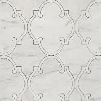 Rabat White Carrara Arabesque Tile by Soho Studio MJRABATWTCRWTHS
