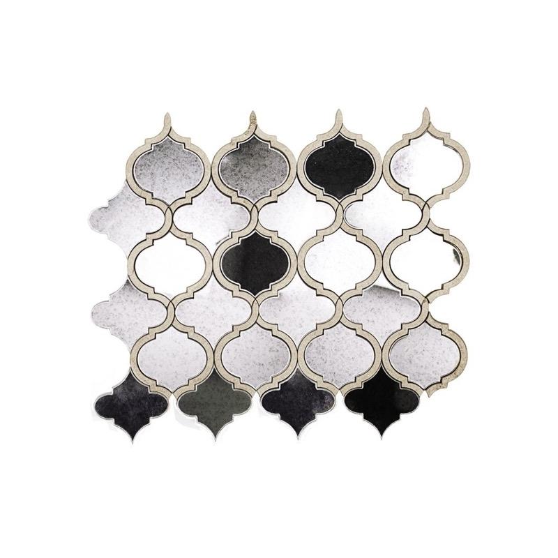 Vision Lantern Antique Mirror Arabesque Tile Soho Studio