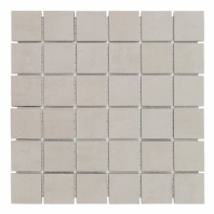Syncro Gray Natural 2x2 Mosaic Tile by Soho Studio TLCNTSYNGRY2X2