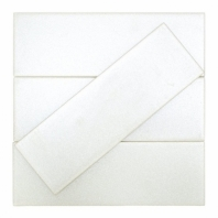 Uptown Glass Pearl Ivory Subway Tile by Soho Studio UPGLSPRLIVRY4X12