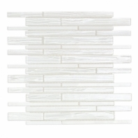 Uptown Glass Railroad Ice Planks Interlocking Tile by Soho Studio UPGLSRRICEPLNK