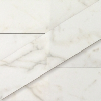 Versilia Calacatta 3x12 Polished Subway Tile by Soho Studio TLVERSPCALA3X12