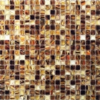 Verve Amber Flow Glass Tile by Soho Studio VRVAMBFLW
