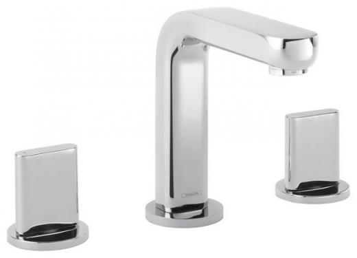 Hansgrohe Metris S Widespread Faucet w/ Full Handles - Chrome 31063821