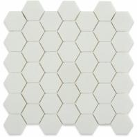 "White Thassos 2"" Hexagon Marble Tile by Soho Studio HEX2INWTTHS"