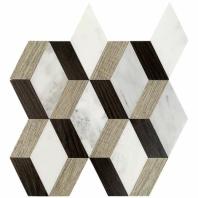 Wood Jet Daintree Asian Statuary Geometric Tile by Soho Studio WJDAINTREE