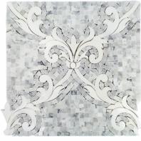 Regalia Bianco Carrara Mosaic Tile by Soho Studio REGBNCOCARTHAS