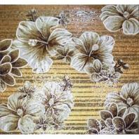Rug Series- Floral Aura Square Mosaic Tile by Soho Studio RUGFLRLSQAURA