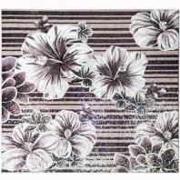 Rug Series- Floral Lilac Square Mosaic Tile by Soho Studio RUGFLRLSQLILAC