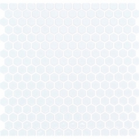 Simple Matte White Hexagon Tile by Soho Studio SMPHEXSLDMTWHT