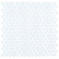 Simple Polished White Hexagon Tile by Soho Studio SMPHEXSLDPLWHT