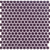 Simple Plum Hexagon Tile by Soho Studio SMPHEXPLUM
