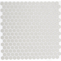 Simple Vintage White Hexagon Tile by Soho Studio SMPHEXVNTWHT