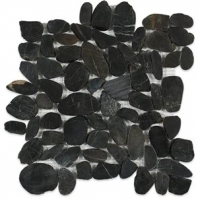 Sliced Gem Black Pebble Tile by Soho Studio SLIGEMBLK