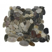 Sliced Gem Multicolored Pebble Tile by Soho Studio SLIGEMMULTI