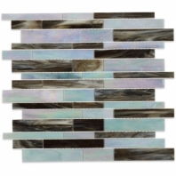 Stained Glass Passion Run Glass Tile by Soho Studio SGFFPASRN