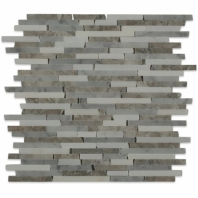 Styx Arctic Blend Interlocking Mosaic Tile by Soho Studio STYXARCT