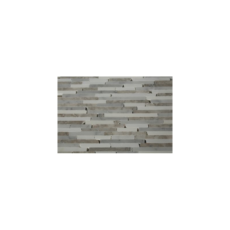 pictures of tiled bathrooms styx arctic blend interlocking mosaic tile by soho 19981