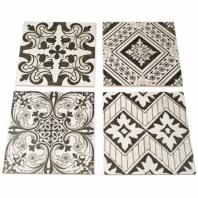 Nouveau Random Gray Natural Mosaic Tile by Soho Studio TLNOUVRNDMGRAYNAT